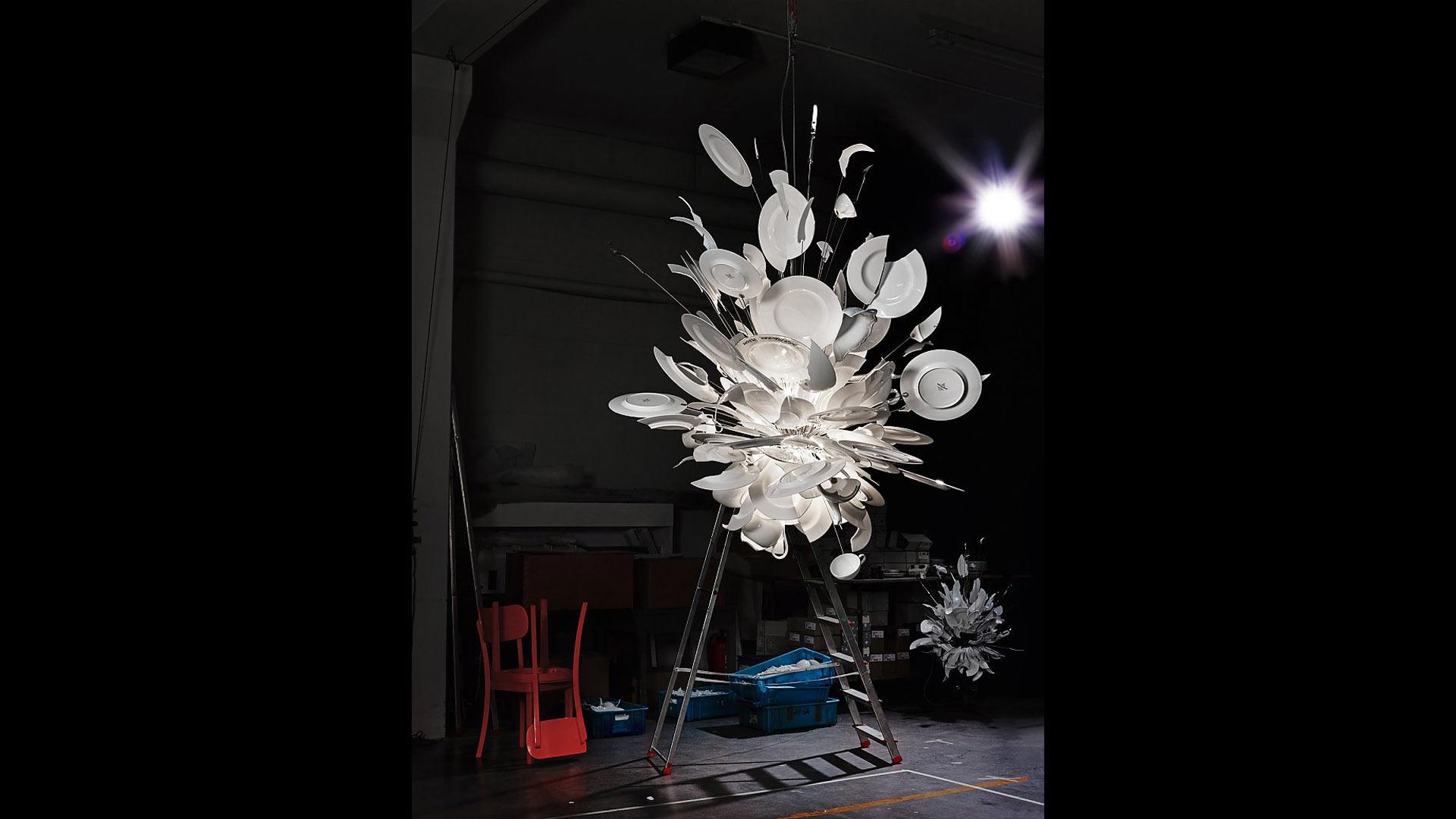 Ingo Maurer Porcamiseria | Lichtinstallationen, Lichtdesign