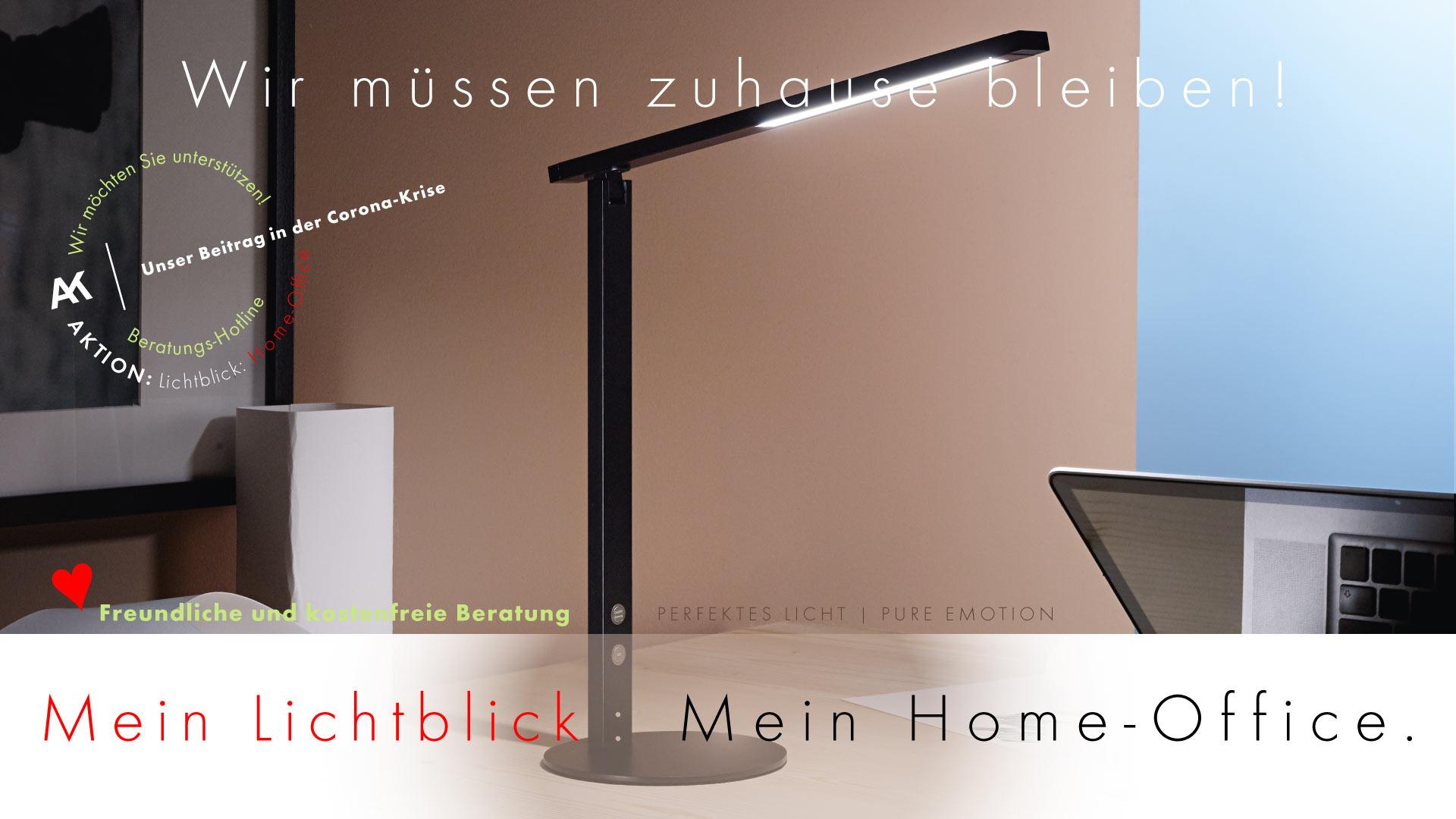 AKTION: Lichtblick Homeoffice von AK-LICHTDESIGN